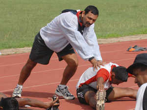 After a week, the list will be pruned down to 33 core probables, who will further train under the watchful eyes of chief coach Harendra Singh(seen in the picture).