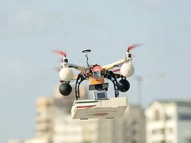 Francescos Drone Delivered Pizza Restaurateur Mikhel Rajani On Last Years Controversial Flight Creating Records