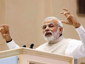 """Narendra Modi described as """"very distressing"""" the """"mindless"""" attack by insurgents in Manipur in which 20 soldiers were killed and 11 injured."""