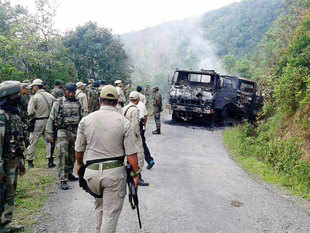 Myanmar's help is being sought but the Army believes not much can be expected given that the neighbouring nation has little control over the border district.
