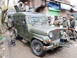 Three militants were killed as Army today foiled an infiltration bid along the Line of Control inKupwaradistrict in third such incident in a fortnight.