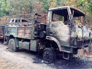 The probe into the killing of 18 Army men in the Manipur convoy ambush has been handed over to the National Investigation Agency (NIA).
