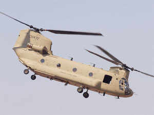 Government is likely to soon clear a contract worth over $2.5 billion for 22 Apache attack helicopters and 15 Chinook heavy-lift choppers with US aviation giant Boeing.