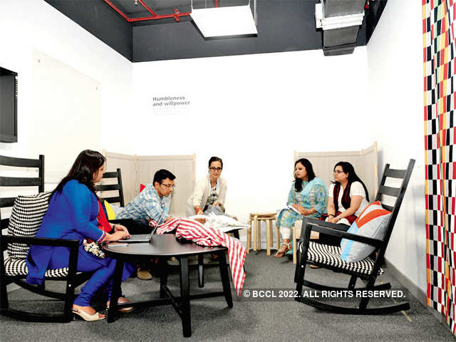 Check out ikea s india office its first activity based workplace