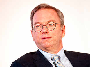 Google executive chairman Eric Schmidt kicked off the company's 2015 shareholders meeting by defending those moonshots to investors.