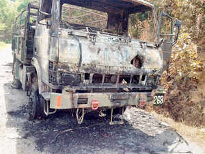 In the worst such attack in two decades, insurgents had on Thursday ambushed a military convoy in Manipur's Chandel district killing at least 18 army personnel and injuring 11 others.