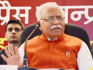 HaryanaChief MinisterManoharLalKhattar said that the Kundli-Manesar-Palwal Expressway will be completed before March 2016.
