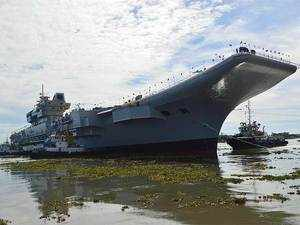 The ship, built atCSL, will undergo a series offitment& trial processes before it is ready for propulsion and inducted into the Navy,CSLofficials said.
