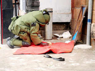 (Representative image)A bomb exploded at the office complex of Moreh police station in Chandel district of Manipur, close to Indo-Myanmar border.