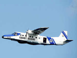 The CGDornieraircraft went off the radar at 9.23 PM on Monday during a routine surveillance mission along the state coast andPalkBay.