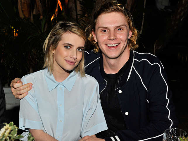 Emma roberts splits from evan peters the economic times actress emma roberts has reportedly called off her engagement with her adult world co m4hsunfo