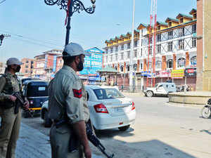 On specific information, a joint team of Army and police last night launched a search operation in Pampore area, a police spokesperson said.