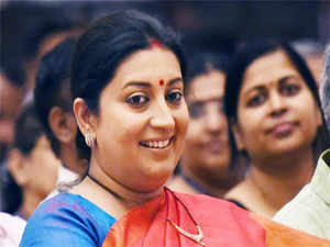 Former director of a technology institute has alleged that Smriti Irani was instrumental in him being transferred out of his job.