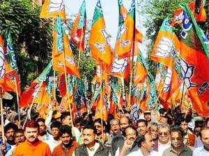 Scores of BJP workers held protest against the Congress government in the state for ruling out CBI probe into alleged bungling of funds meant for rehabilitation.