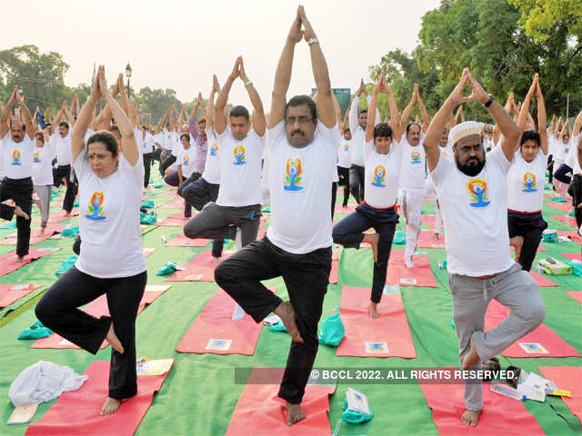 yoga not just a physical exercise pm narendra modi breathes by