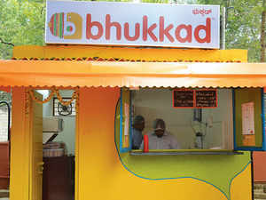 """""""I believe location is extremely important, being visible to your target audience is a marketing tool in itself,""""Bhukkad's Aruj Gargsays."""