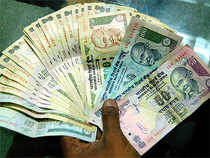 Rupee droppedafter the US Fed Governor Jerome Powell said that the US apex bank may cut interest rates two times this calendar.