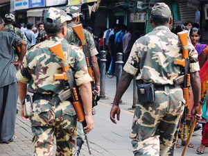 UPA govt had proposed to replace 5 battalions of CRPF with ITBP, another central force and redeploy them at Bijapur and Dantewada in Chhattisgarh.