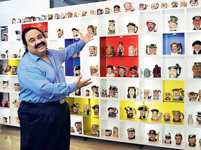 SandeepGoyalhas been collecting Toby jugs ever since he inherited a collection from an acquaintance in England. (Image by:Bharat Chanda)