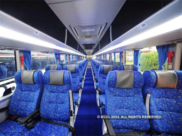 Ksrtc S New Airavat Diamond Class Buses From Scania