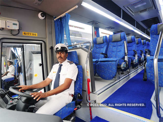Ksrtc S New Airavat Diamond Class Buses From Scania