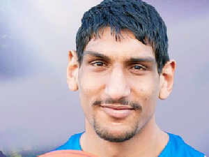 Satnam Singh was selected amongst the 60 young men who will play basketball in the NBA next season.