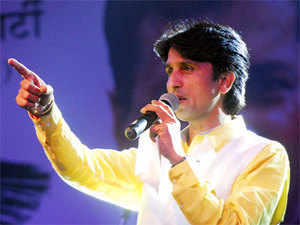 """Kumar Vishwas today lodged a complaint with the Patel Nagar police demanding action against a private TV news channel for """"damaging"""" his reputation."""