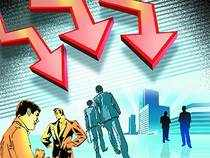 Shares of IT companies came under selling pressure in trade after technology & research firm Gartner rang alarm bells.
