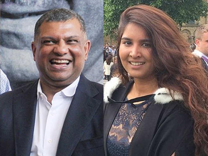 airasia boss tony fernandes on cloud nine at daughter