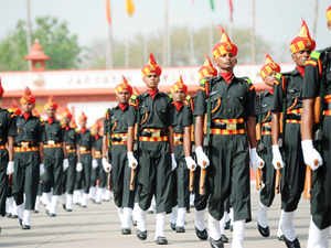 Brigade of the Guards was conceived on the lines of the British Cold Stream Guards by late Field Marshal K M Cariappa.