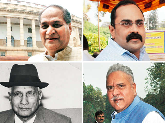 Some of them proved to be good at politics, but a few were not that lucky.