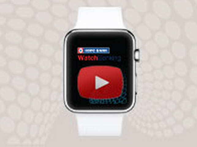 The smartwatch app will work in conjunction with the bank's mobile banking iPhone app.