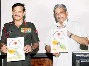 Parrikar launched a new automataion software, ARPAN 3.0 for the over 12 lakh soldiers of the Indian Army which would provide them easy access to their service records.
