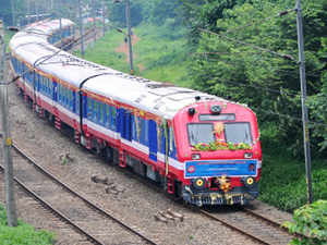 (Representational image) The long awaited electric train service between Coimbatore and Mettupalayam commenced operations today.