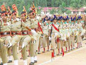 A total 515 jawans took oath to serve the nation after the attestation-cum-passing-out parade ceremony at the subsidiary training centre of the BSF.