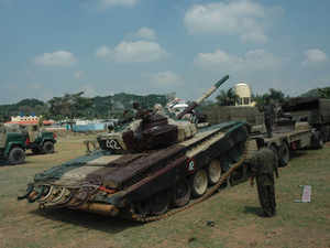 The approvedlicencesare for manufacture of various kinds of arms and ammunition such as radars, bullet proof jackets, ammunition fired from artillery, tanks etc.
