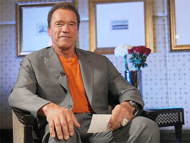"Hollywood action star Arnold Schwarzenegger has shown his tender side and has written a touching note a ""Terminator"" fan and his ailing father."