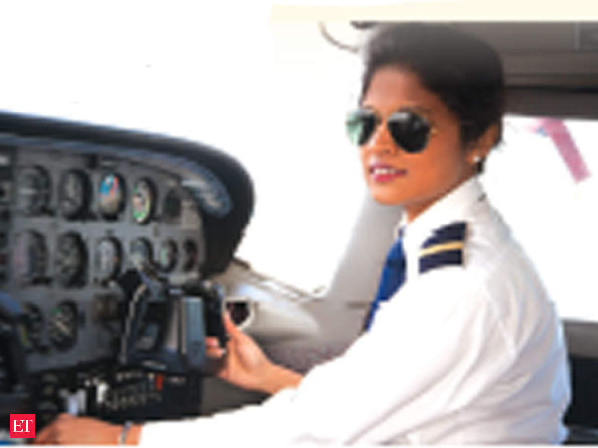 How India's women pilots are breaking the gender barrier to