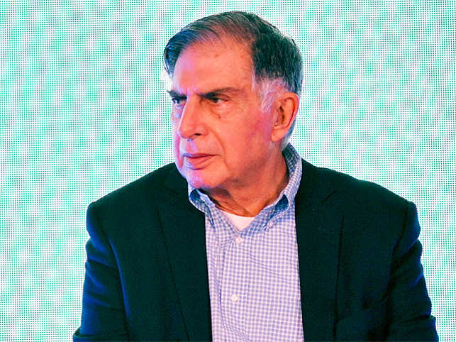 Most of the people in this room are much younger than me. When I went to school in Bombay, it took seven to ten years to get a telephone, says Ratan Tata.