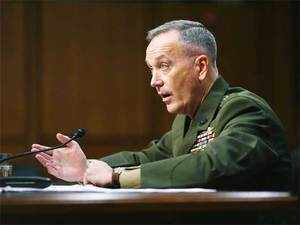 Dunford said Pakistan has cooperated with the US in its operations against al-Qaeda and other terrorist organisations.