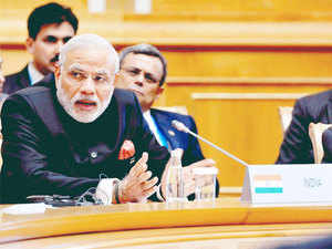 Aspects like distrust between countries, long-standing disputes, trade barriers and terrorism can pose obstacles in the development of Eurasian region, PM Modi said.