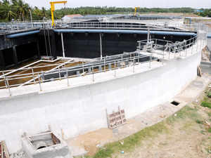 The city has taken its first step towards decentralized waste water treatmentwhere sewage will be treated to drinking water quality.