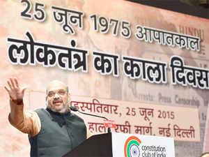 """Achhedinaanemein25saallagenge(It will take 25 years to bringachhedin),""BJPpresidentAmitShah said on Monday."