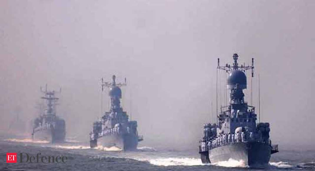 Indian Navy aiming at 200-ship fleet by 2027 - The Economic Times