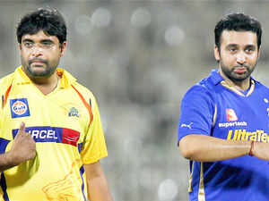 RajKundra andGurunathMeiyappan, now banned from things cricket beyond the ordinary avatar of spectators, can now go back to their holes.
