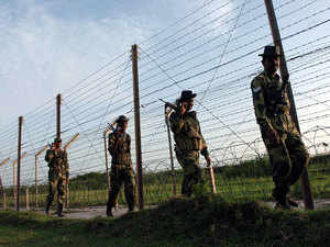 Representational image: BSF Jawans patrolling area near Jammu border.