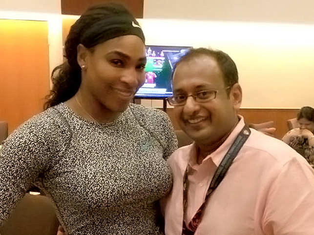 The Wimbledon champ Serena Williams has worn a pair of ruby and diamond earrings, gifted to her by velvetcase.com CEO Kapil Hetamsaria, during her last three Slam wins.
