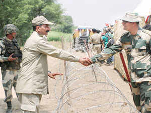 Pakistan has removed spy cameras installed at several places along the international border with Rajasthan about a fortnight ago, following objections by Border Security Force (BSF).