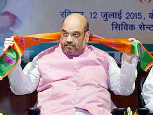 "Bharatiya Janata Party president Amit Shah has termed the alliance between Nitish Kumar and Lalu Prasad Yadav as ""opportunistic""."