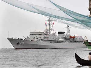 Representational image: Chinese naval training ship Zheng He calling at Kochi Port on November 6, 2014.